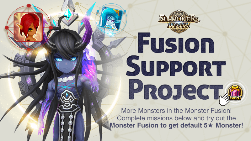 Event | Summoners War Fusion Support Project No 3| 2019-03-10